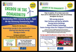 Leaflet for Energy in the Community