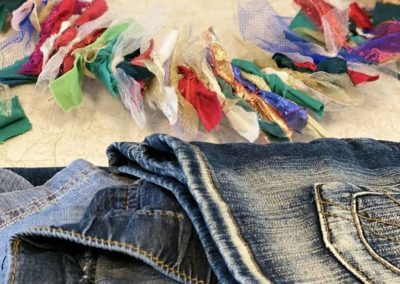 Rag and jeans upcycling
